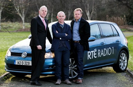 VW Sponsor RTÉ One Ray D'Arcy Show