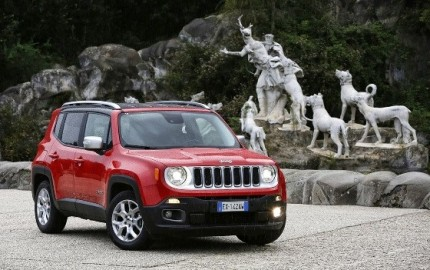 Jeep Renegade Red Side